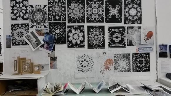 Full view of my studio space.