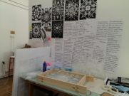 How my studio space is looking just now.