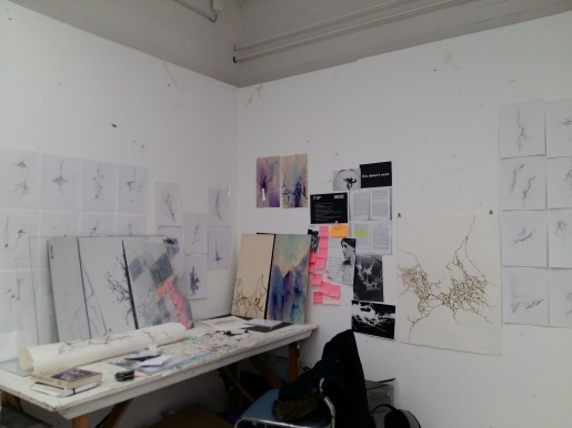 The studio as it looks now