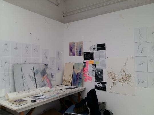 The studio as it looks now